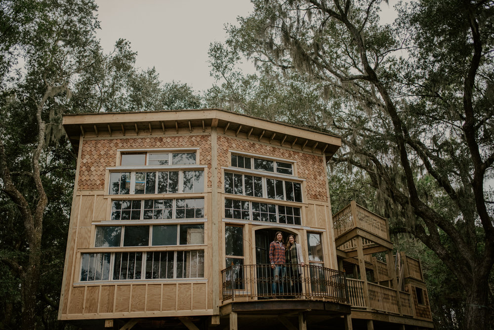 THE CHARLESTON TREEHOUSE