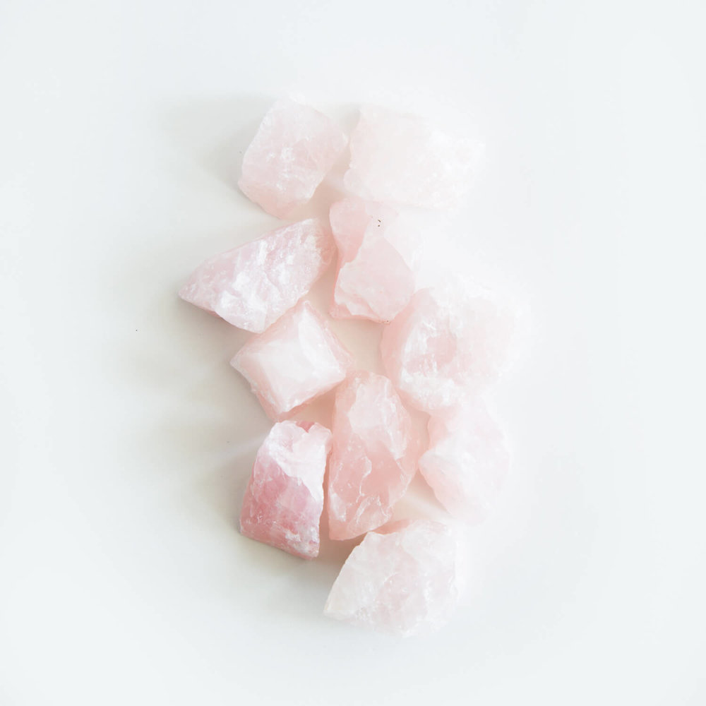 Rose Quartz accelerates your natural gift for love and loving relationships.