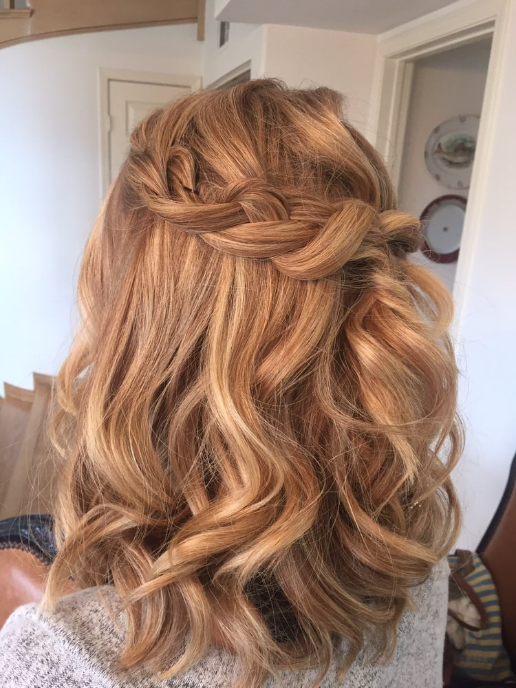 Red Bridal Hair Half Up Braided Loose Curls.jpg