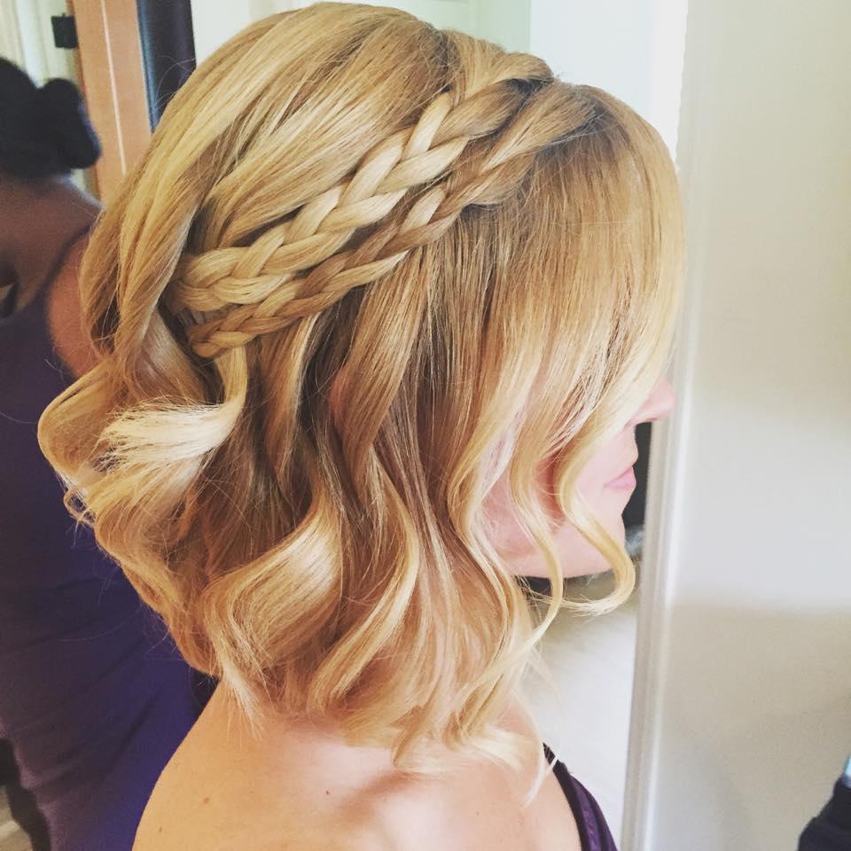Blonde Short Bridesmaid Hair Braided Curls.jpg