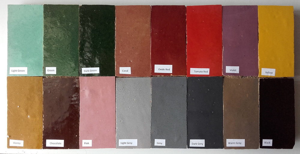 Zellige Colour Range