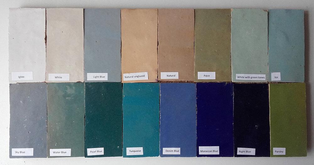 Zellige Colour Range