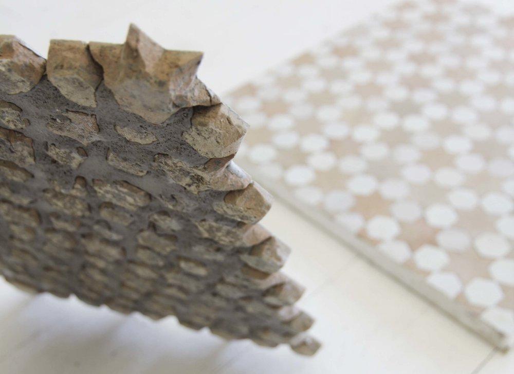 Moroccan zeolite mosaic tile sheet Australia Tilesofezra