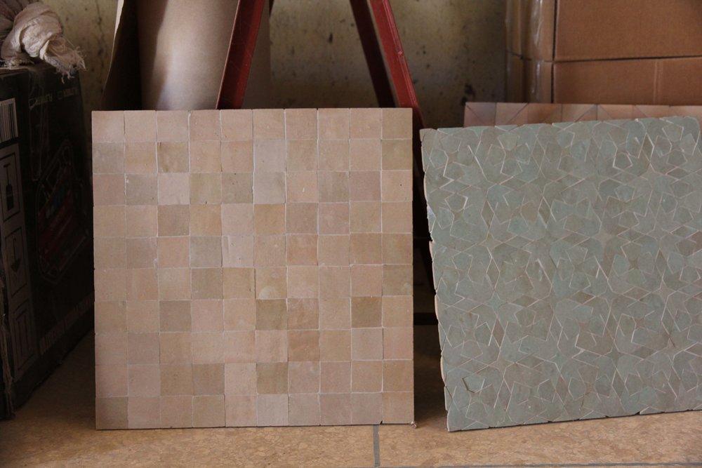 Tilesofezra Zellige artisan handmade moroccan tiles Australia handpainted