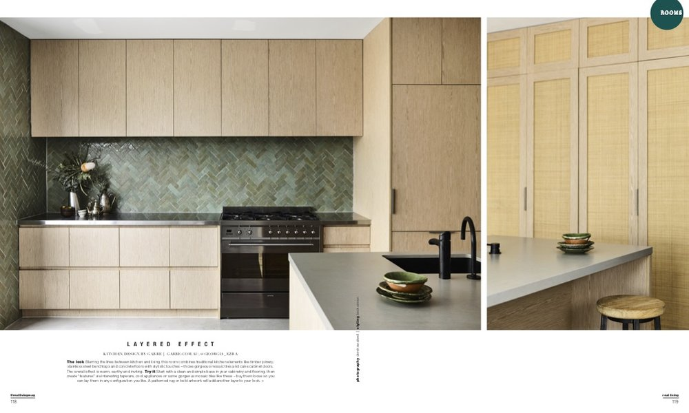 Real; Living Magazines Georgia Ezra Tilesofezra Kitchen design Zellige mosaics .jpg