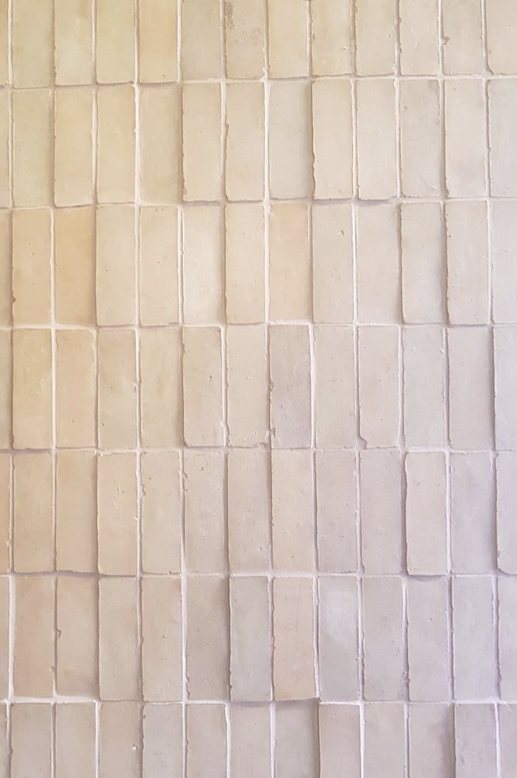 SHOP  Tiles of Ezra FL005 natural unglazed