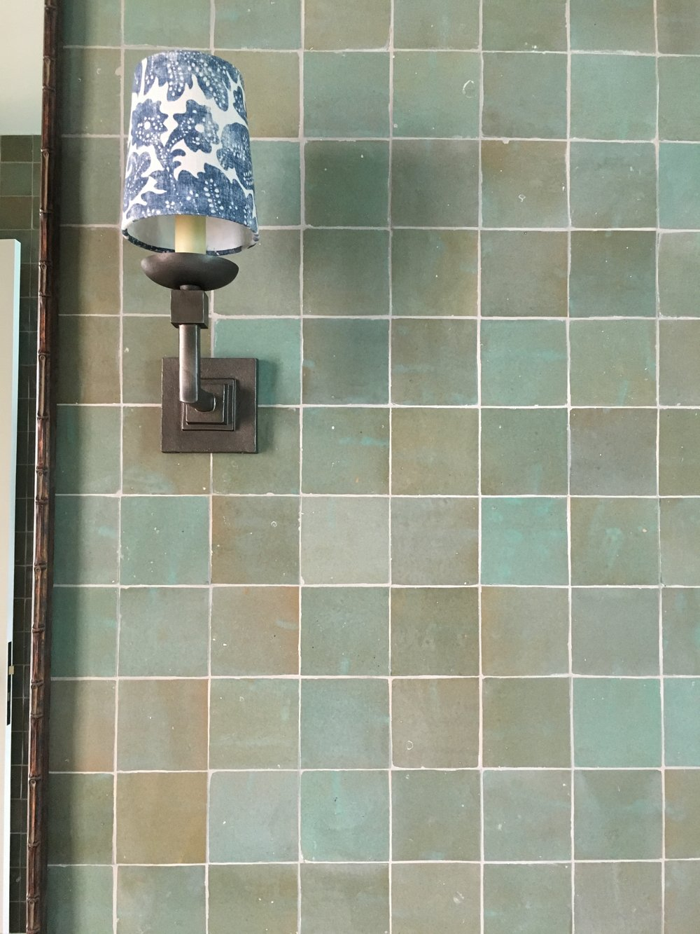 Tilesofezra Moroccan Bathroom tile Aqua ZEL001B 3.JPG
