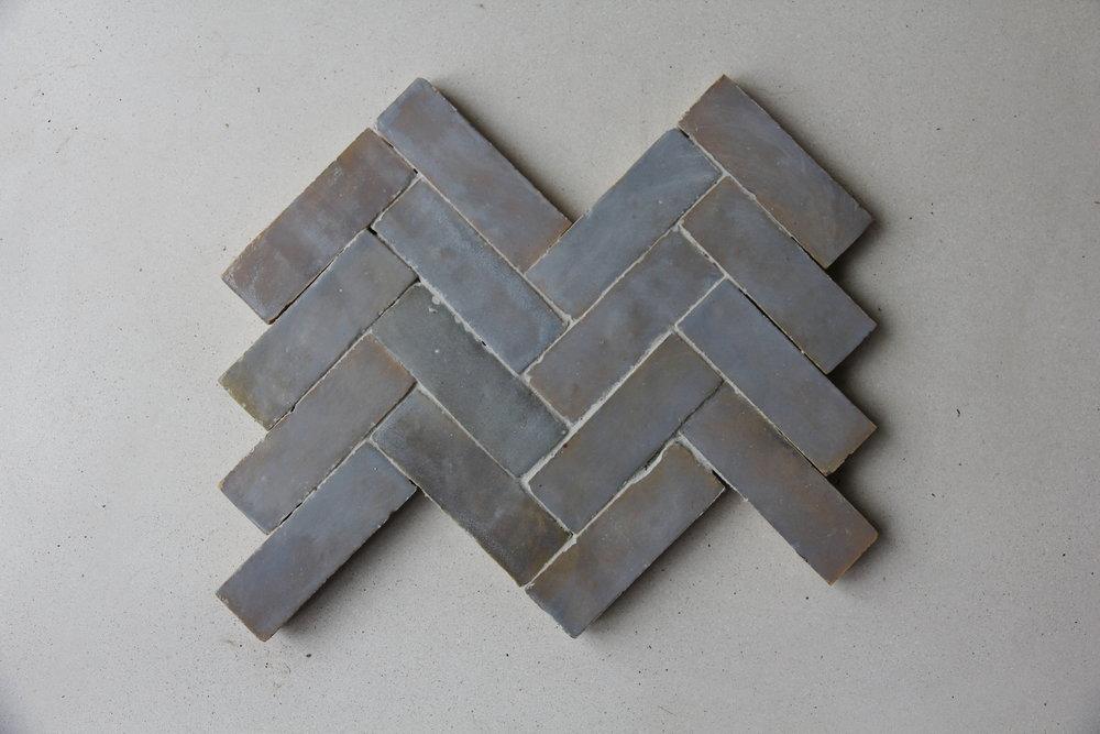 Tiles of ezra FL006 Light Grey zellige tile .JPG