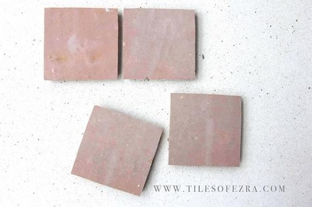 Moroccan pink beauty that has a story. As director @georgia_ezra puts it, here at Tiles of Ezra, we whole heartedly embody the idea of focusing on traceability of our product to the men who have committed to hand-making our tiles with their hands. ⁣ .⁣ .⁣ .⁣ #zellige #zelij #moroccantiles #melbourne  #interiordesire #interiorinspo #handmadetiles #interior4all #interior123 #interiores #myhome #interiorstyling #interiordecor #livingroom #instahome #decor #homedecor #designer #decoration #furniture #homedesign #house #instadesign #architecturelovers #architect ⁣