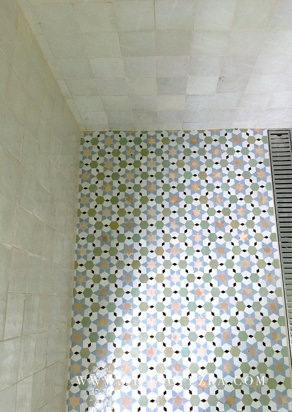 Tilesofezra Moroccan feature shower tiles .jpg
