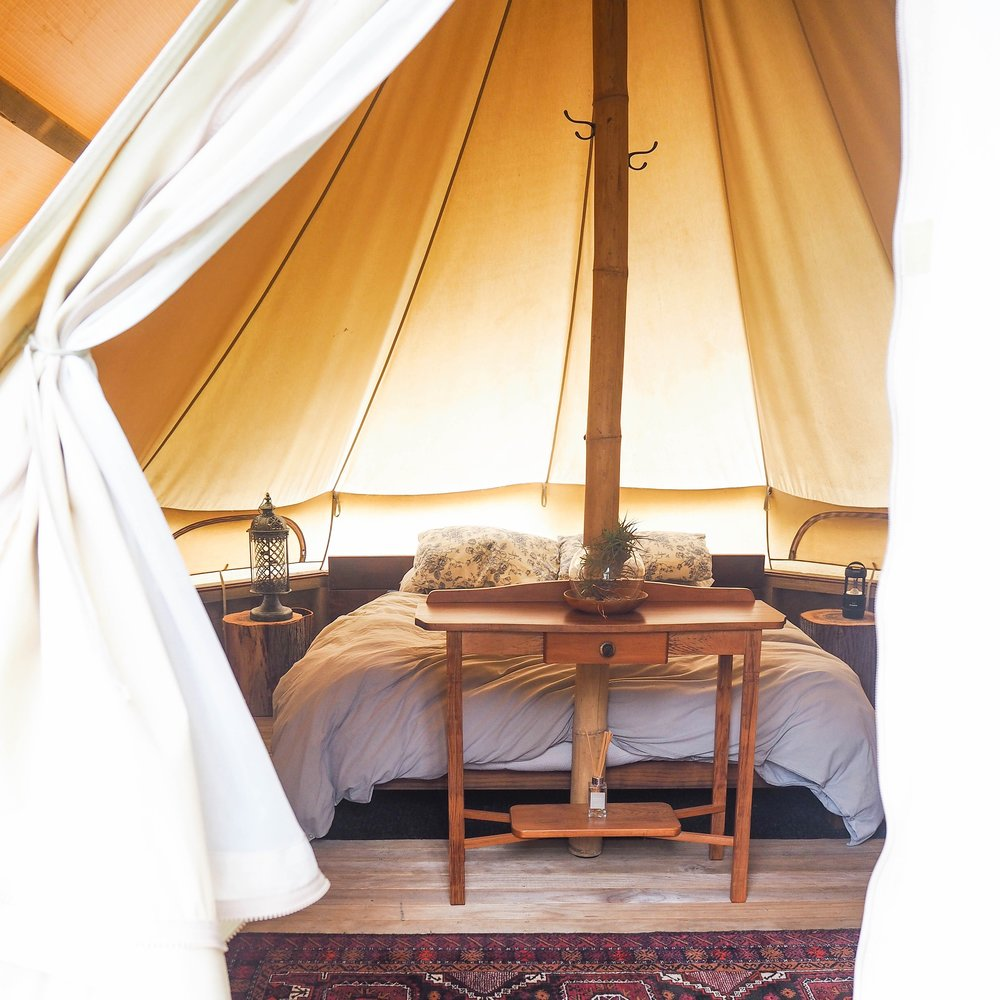 Ash Owens Glamping with Romer App