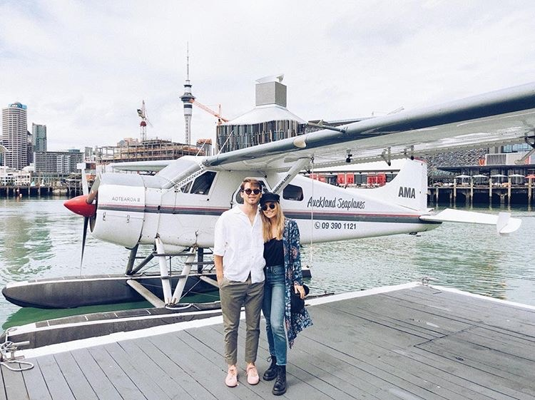 India Heath found Auckland Seaplanes to an amazing lunch on the island
