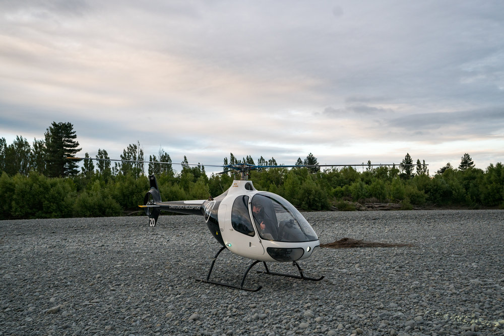 Talman found Christchurch Helicopters Trial a flight experience