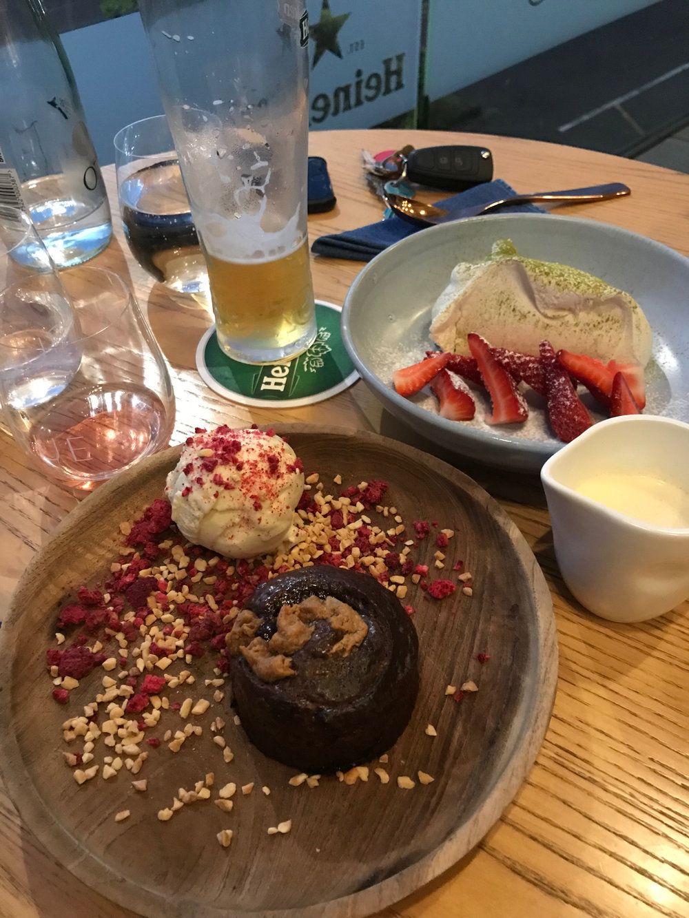 Lauren Meale found this delicious spot for dessert