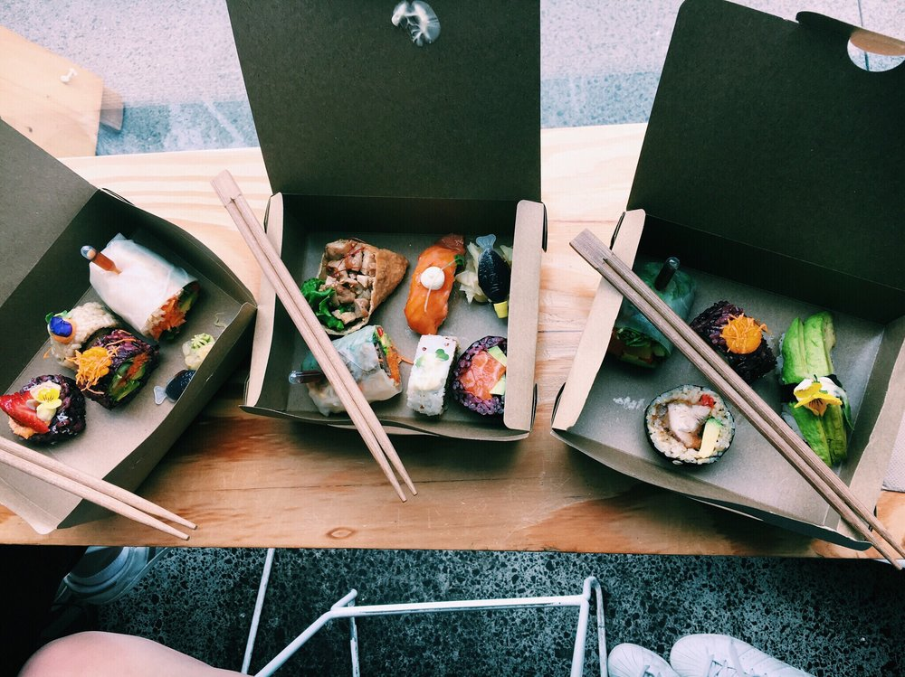 4. The best pick and mix sushi -  &Sushi  @SophieMartin98