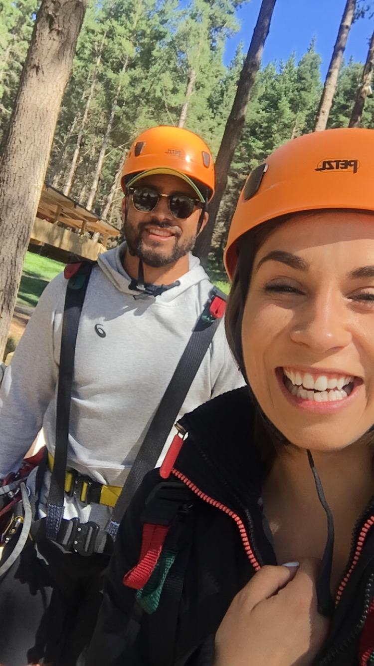Richie Mounga found Ziplining at Adventure Park with Romer App