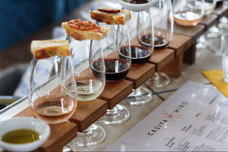 7. Wine and food matching - Sampling of the local wines produced on Waiheke with pairings for a full on experience for your taste buds. Booking essentialCasita Miro by @Timtamjimjam