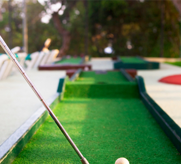 5. Game of mini golf - The best mini golf course in Auckland for a day out in the sun.Lilliputt Mini Golf @Charlottebrown