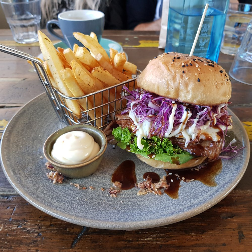 5.   Try the Kakuni Burger at Apartment Coffee