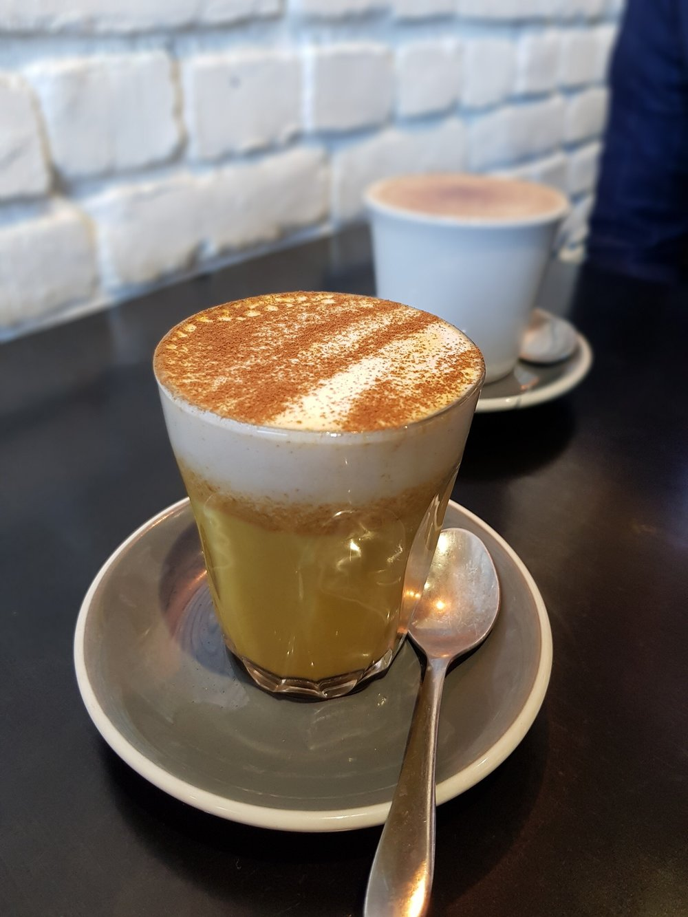 3. Try a tumeric Latte