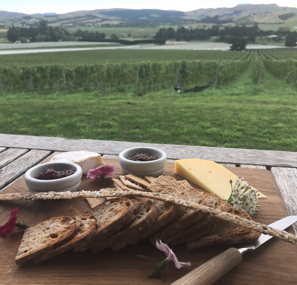 5.  Wine and cheese @ Black Estate