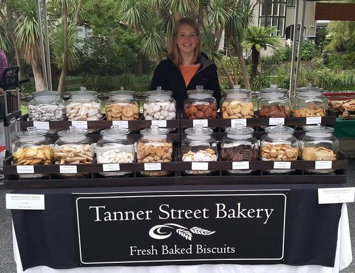 1  . Take your pick with a Tanner Street baked biscuits at the Saturday local markets