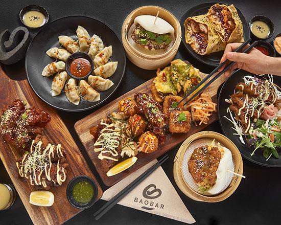 Bao Bar Platter -