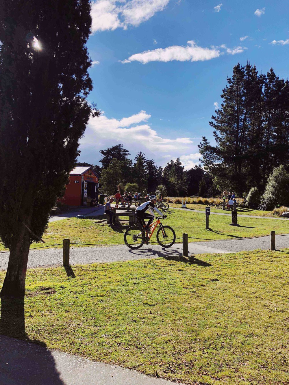 RENT A BIKE, BRING YOUR OWN OR SIMPLY WALK OR RUN AT MCLEAN'S ISLAND