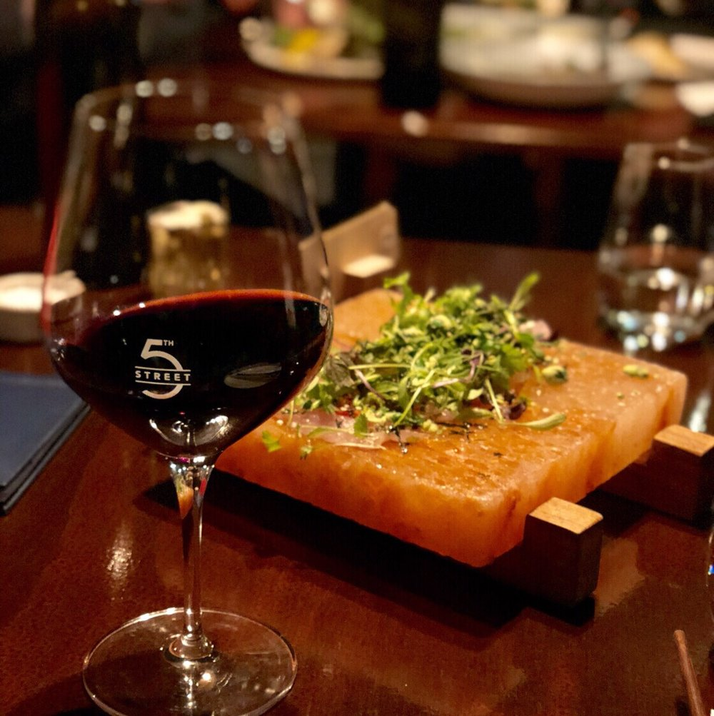 5.SHARE A DELICIOUS SELECTION INCLUDING THE CURED FISH AT 5TH STREET