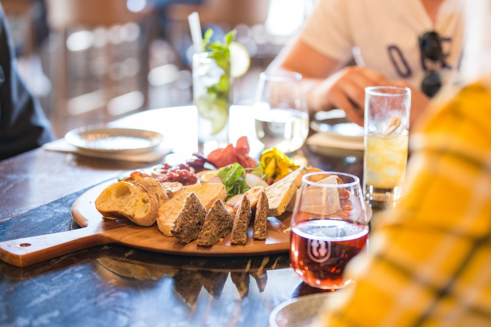 4  . Share some delicious local breads, cheeses and meats with friends or book that perfect date night!