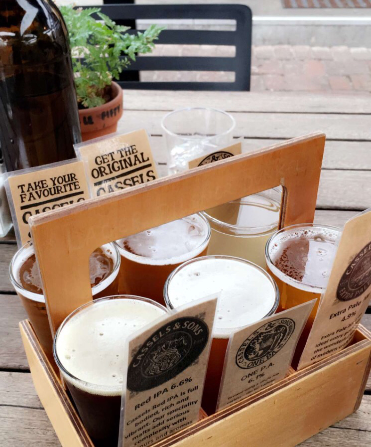 4. Beer Tasting at The Brewery by Cassels and Sons