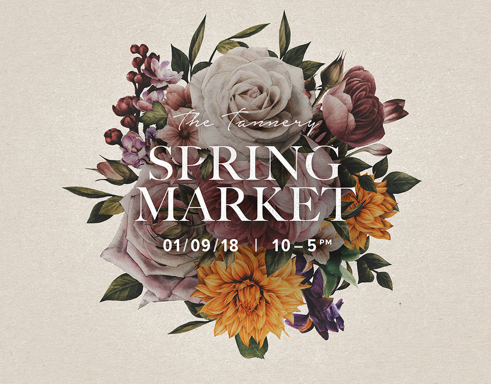 4  . Welcome Spring in and Indulge at the Tannery with the Spring Market