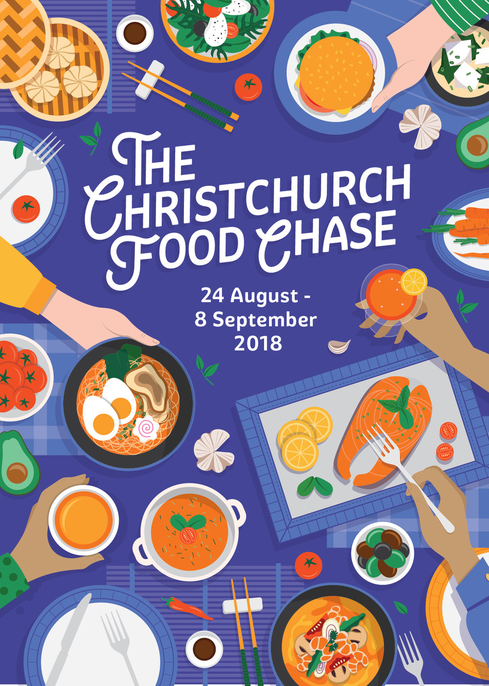 2.Join the Christchurch Food Chase to find our city's favourite dish!