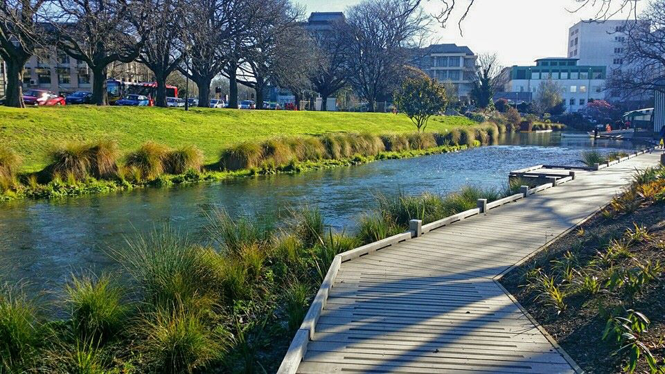 4. WALK ALONG THE ŌTĀKARO AVON RIVER CORRIDOR - Avon River Walk is a great way to clear your head, connect with friends or even walk during your lunch break. Easy and pram friendly it's one every local should take the time to explore.#Free #Walk #Healthy #MHAW