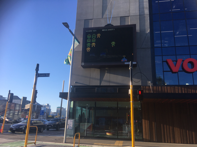 3. PLAY A FRee OUTDOOR VIDEO GAME - Exploring the city just got even better! Wander around this weekend and outside the Vodafone Xone building (Romer Sponsors) you will discover the gigantic outdoor video game to play for free!#Free #Walk #Healthy #Game📷 Uploaded by Keran