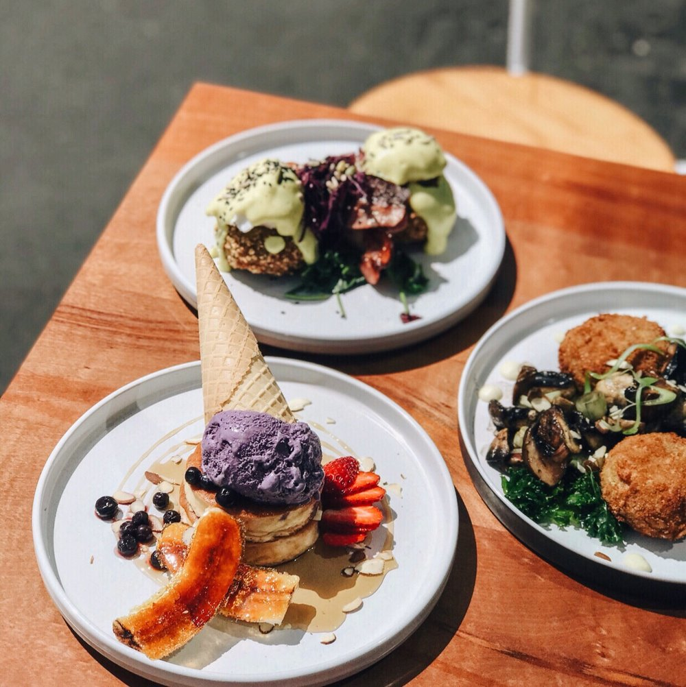 3.THE MOST INSTAGRAMMABLE BRUNCH AT MOMENT CAFÉ - Tuck into Christchurch's most instagrammable brunch at Moment. Everything is tasty but the Japanese pancakes are next-level!📷 Vanessa Ortynsky