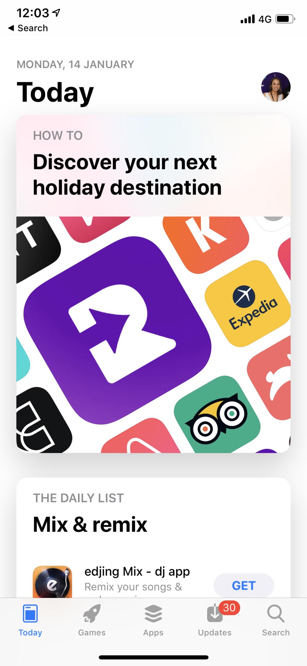 Romer app featured by Apple Emily Heazlewood