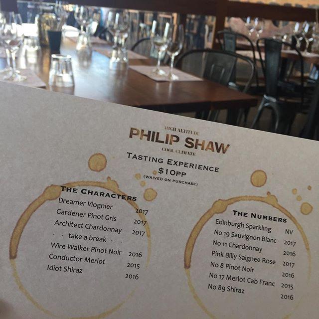 Awesome 'numbers' series wine tasting in Orange last week with Phil and Anna Speers!
