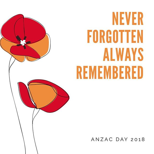 Lest we forget #Anzac #anzacday #anzacs #anzacspirit #lestweforget #wewillrememberthem #poppy