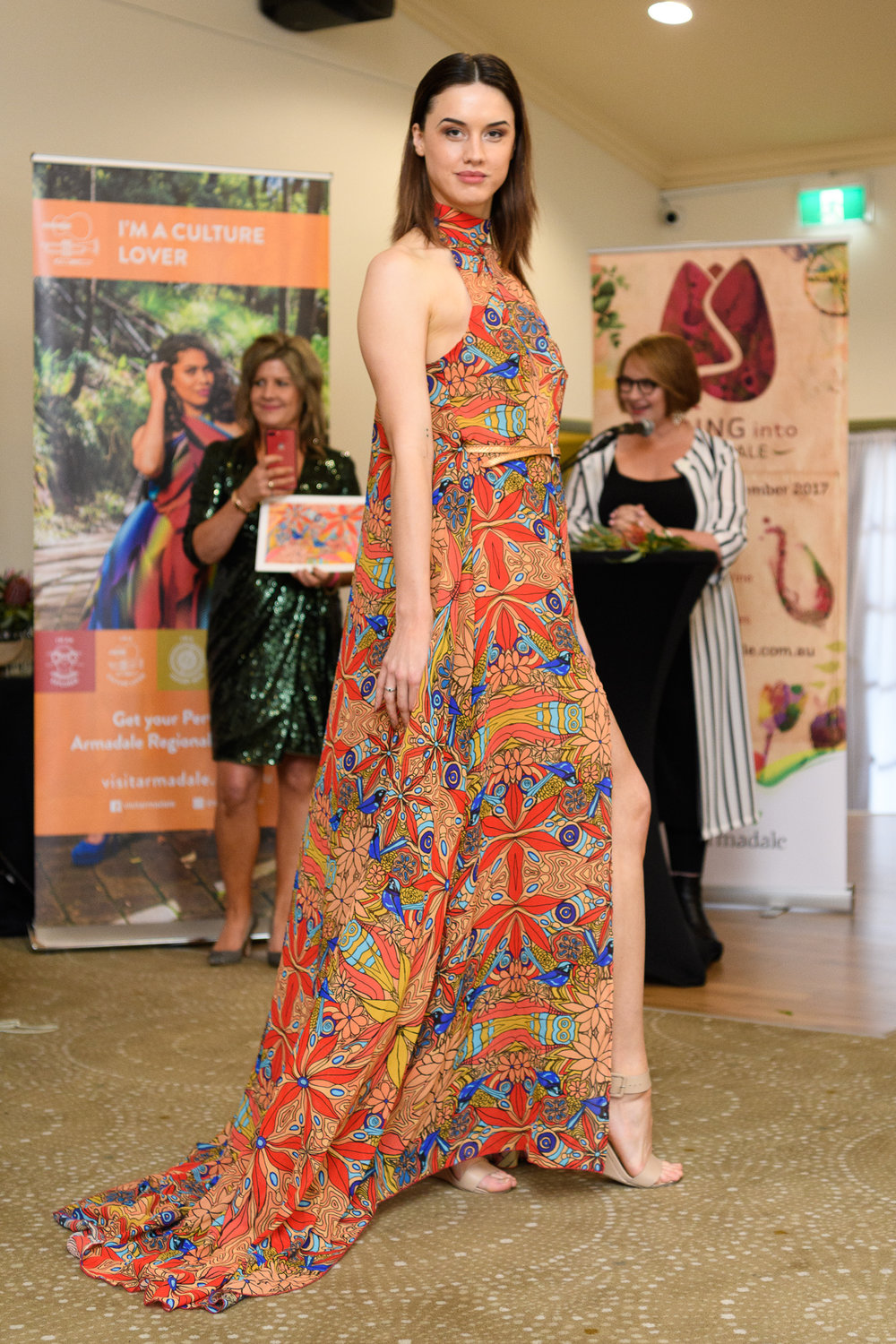 """Graduates of Cat Birch's """"Life Skills Program"""" will again serve as runway models for the Love is in the Air, Spring into Armadale Fashion Show, Saturday 11th August at Araluen Botanic Park, Roleystone."""