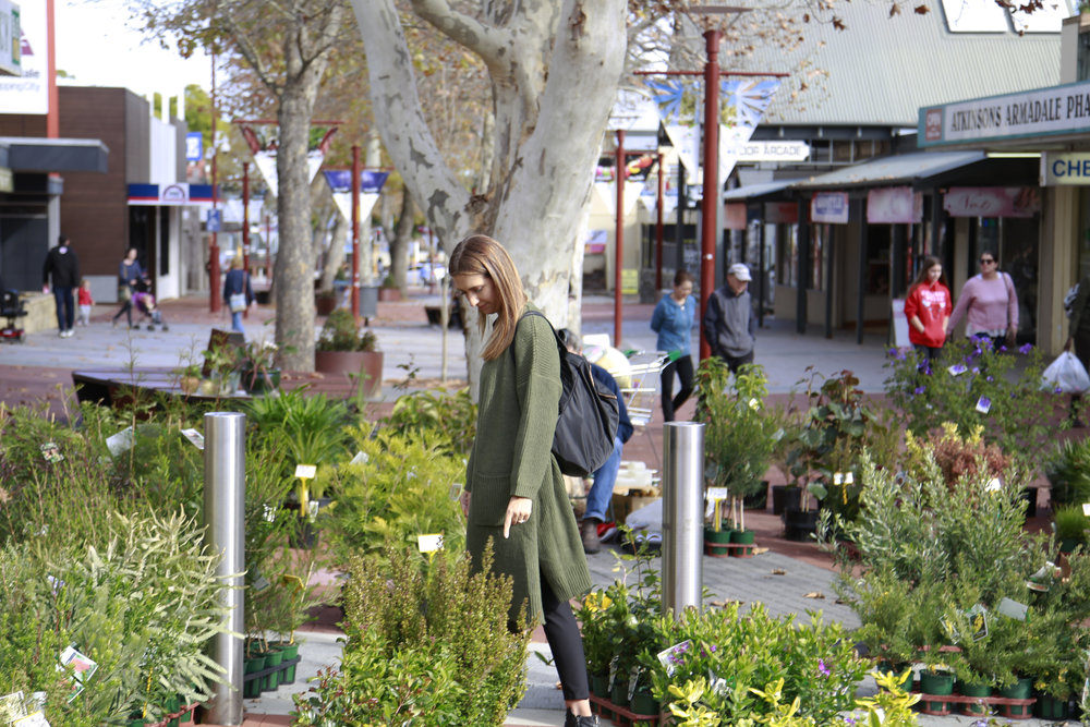 Armadale's Jull Street Mall Features ever-changing markets and many public artworks.