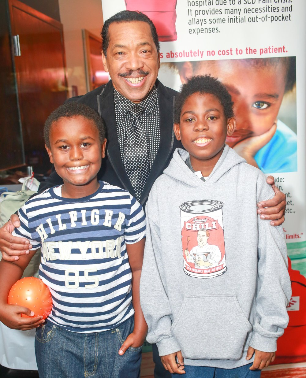 In continued support of our SCD community, Founding KISF Board Member, the talented Obba Babatundé joined the festivities for a fun-filled day with patients and families. -