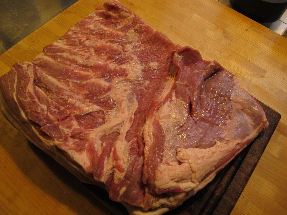 To kilo rå grisemave