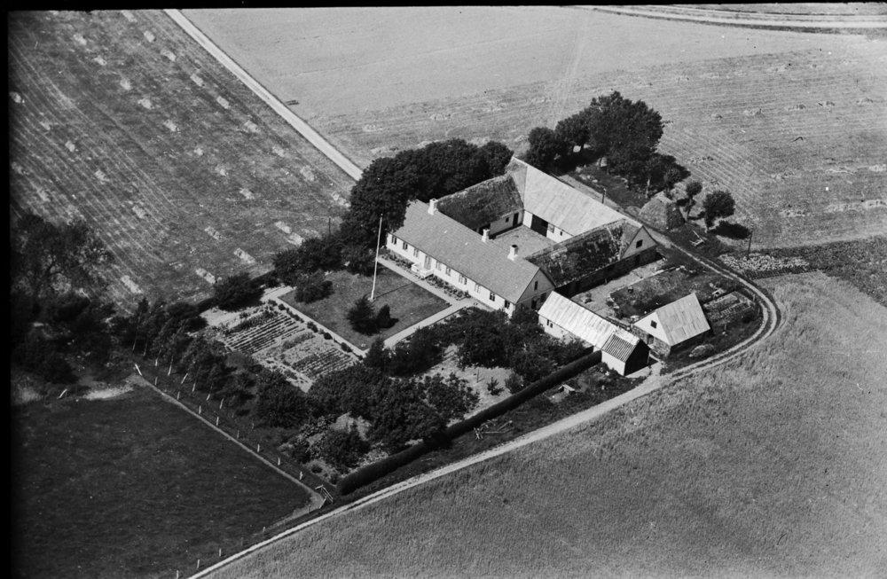 Luftfoto af Stenriggård fra 1936-38. Billedet er lånt fra 'Danmark set fra luften' på Det Kongelige Biblioteks hjemmeside.