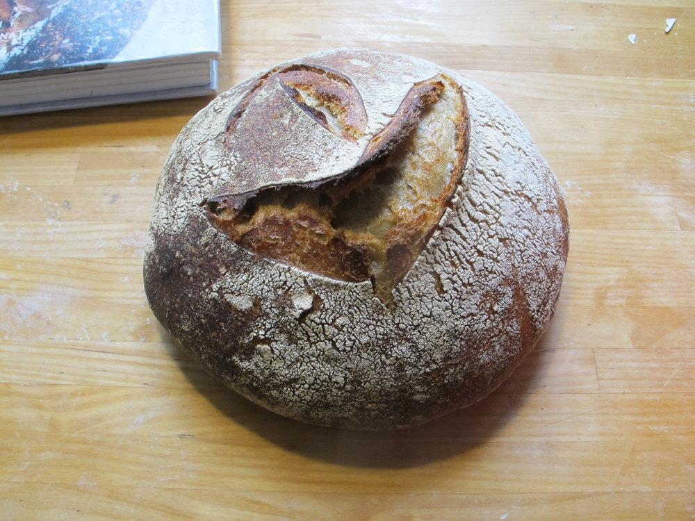 Jeg er så stolt af det brød.