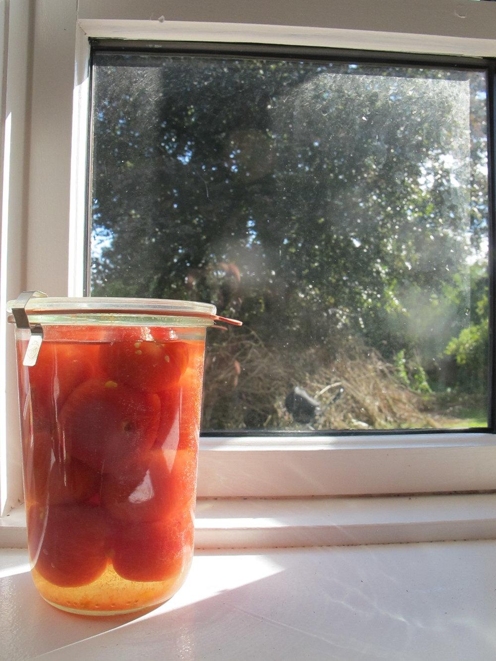 Henkogte tomater
