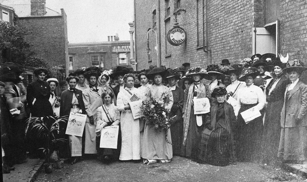 suffragettes thanet history of women