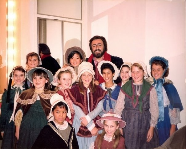 Performing with San Francisco Opera when I was a girl.