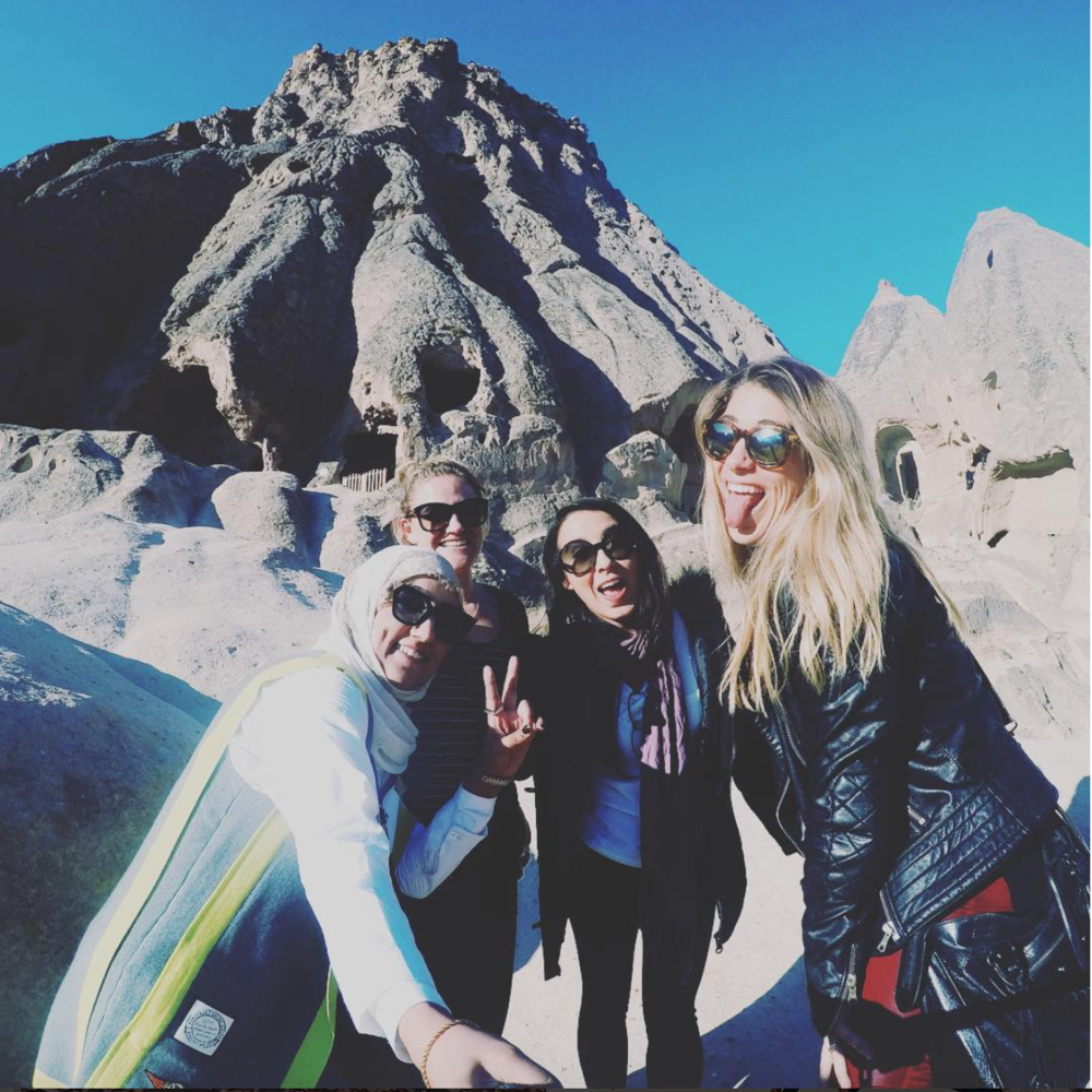 Brasil, Quait, Australia e México viajando pela Turquia. Conhecer outros idiomas te permite fazer amigos do mundo todo