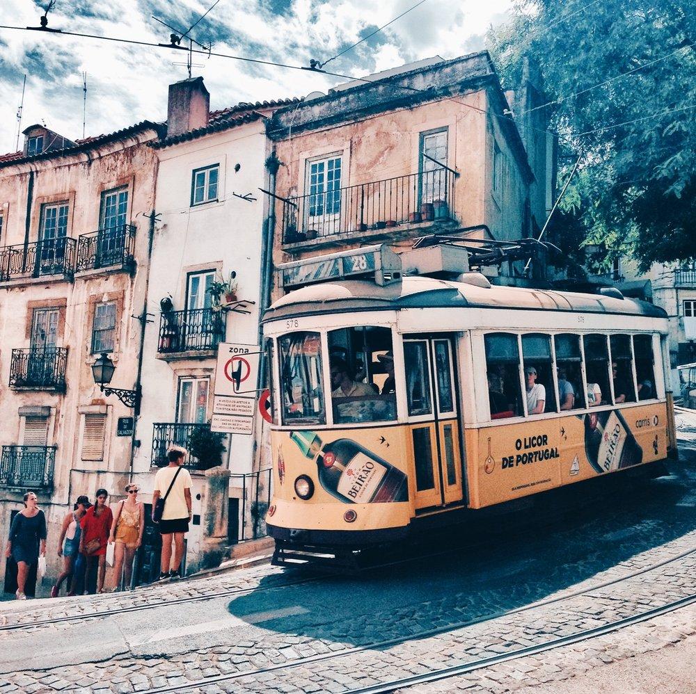 Charme de morar em Lisboa